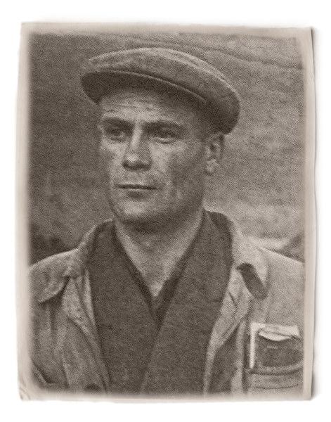 заключенный (Колыма, 1950 г.)